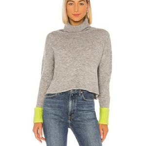 Revolve X John + Jenn Turtleneck Crop Sweater